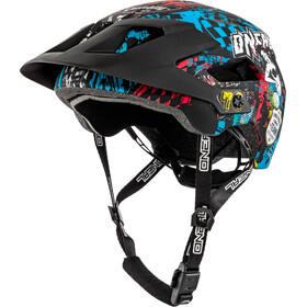 ONeal Defender 2.0 Kask rowerowy niebieski/czarny